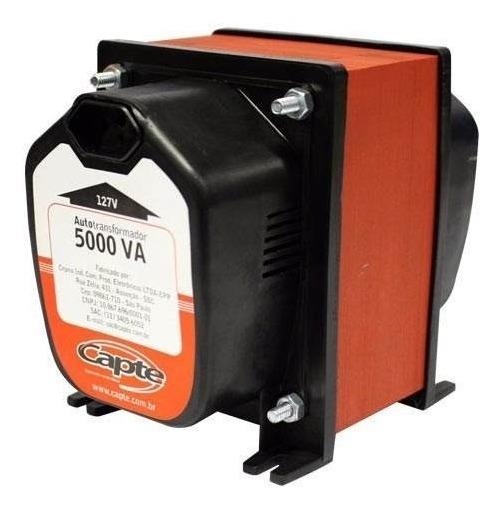 Auto Transformador Bivolt 5000va / 3500w Capte P/ Geladeira