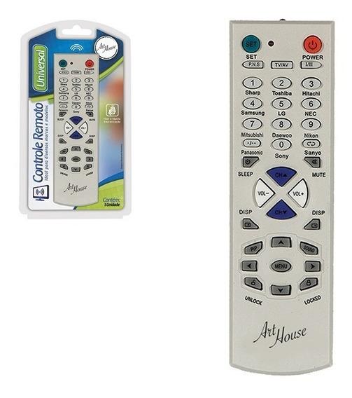 Kit C/3 Controle Remoto Universal P/ Tv De Tubo / Led / Lcd