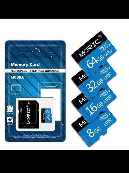 Cartao De Memoria Alto Desempenho 32gb Com Adaptador.