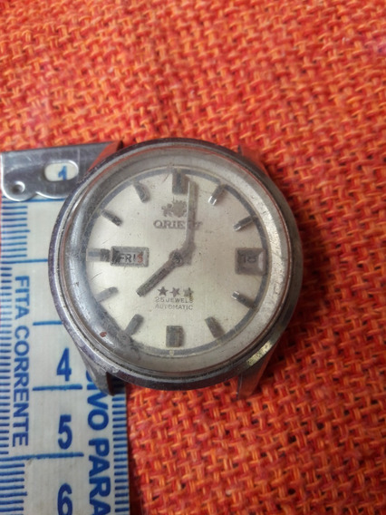 Relógio Antigo Orient Automatic 25 Jewels Leia A Descrição