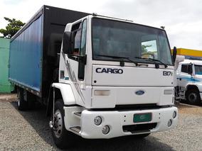 Caminhão Toco Ford Cargo 1317 2006 C/ Sider