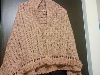 Vendo Hermoso Chal A Crochet