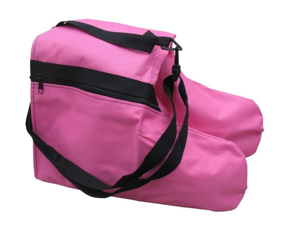 Bolso Para Patines Sports Figure Saddle Skate Bag Pink