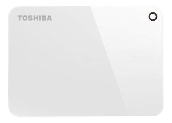 Disco rígido externo Toshiba Canvio Advance HDTC920X 2TB branco