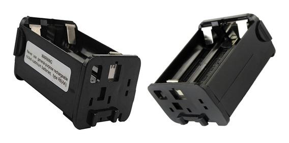 Caixa Caso Pacote Bateria Rádio 2x 6aa Para Kenwood Th -28a