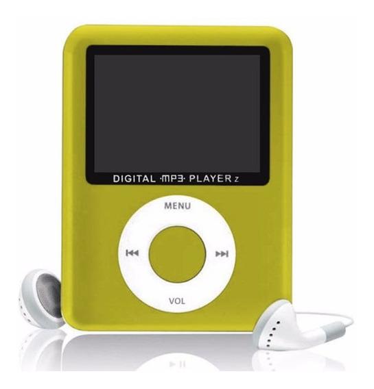 Mp3 Mp4 Player Mini 4006 Stereo Rádio Fm Micro Sd Multimídia