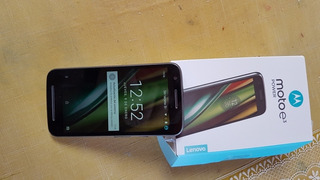 Celular Motorola E 3se Vende 2 X 1