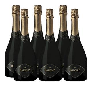 Champagne Baron B Extra Brut 750ml Original Pack Caja X6