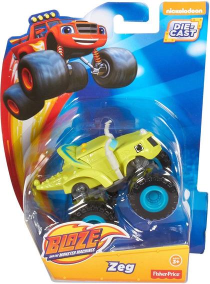 Carro Zeg De Blaze And Monster Machine Original 8cm