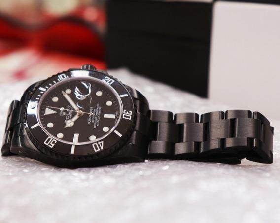 Relógio Rolex Automático All Black Top Premium Aaa+