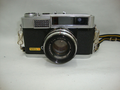 Antiga Camera Yashica M Lente Yashinon