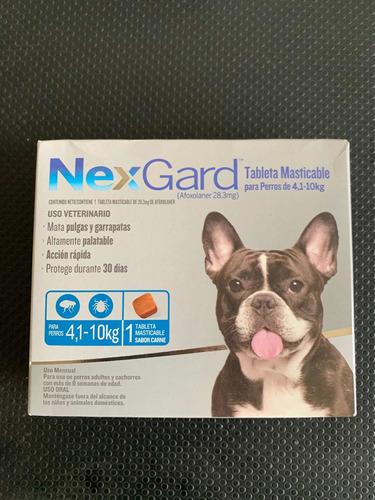 Nexgard 4.1-10 Kg Para El Control De Pulgas Y Garrapatas