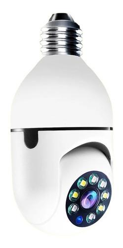 Camara Ip Ampolleta Motorizada 360° E27 1080p