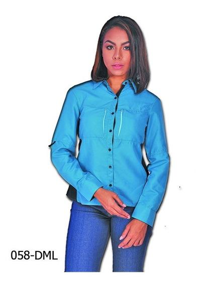 Camisas Tipo Columbia De Dama Perfectas Para Uniformes
