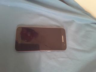 Samsung Galaxy S7 Flat Com Display Queimado Resto Todo Bom