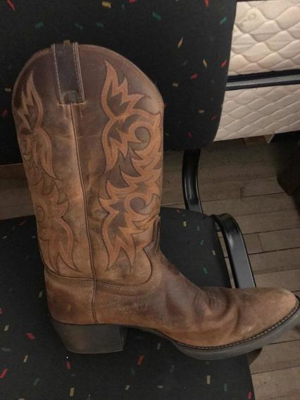Botas Texanas Hombre Justin Como Nuevas