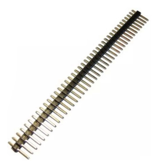 Barra Com 40 Pinos - Pin Head - 5 Unidades