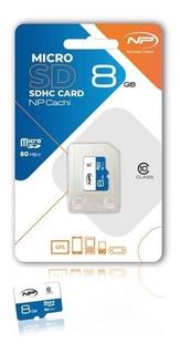 Memoria Micro Sd 8gb Np Original Rapida Clase 10