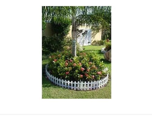 6 Cerca Plastica P Jardim Decorativa Ingles 40,5x19