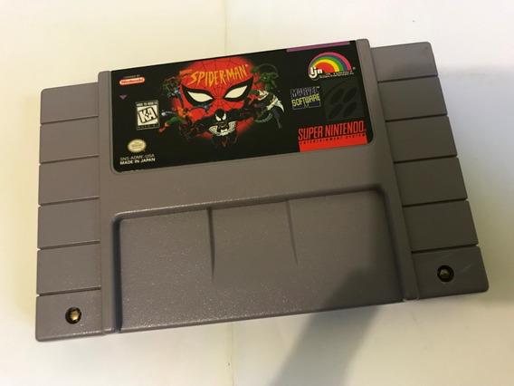 Spider Man - Super Nintendo Snes - Original - V298