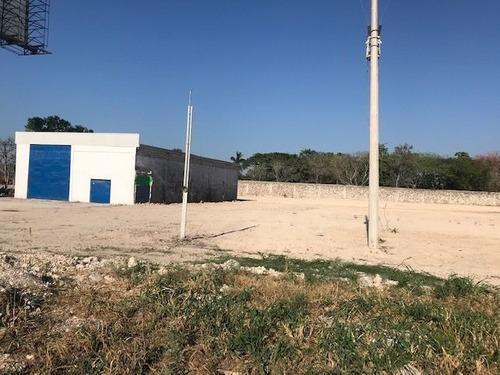 Renta De Terreno A Pie De Carretera Merida-progreso Km 25