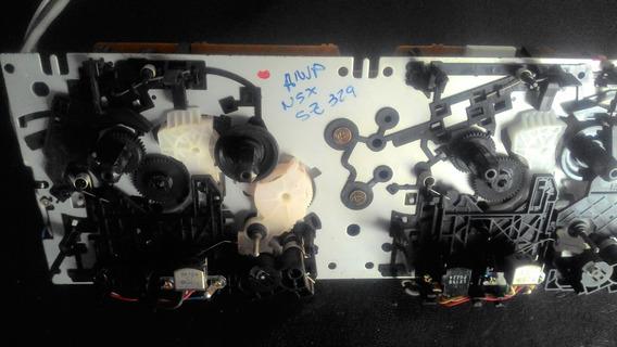 Mecanismo Do Duplo Deck Aiwa Nsx-sz 329 Perfeito S/correia