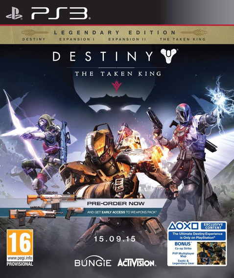 Destiny: The Taken King-legendary Edition - Midia Digital