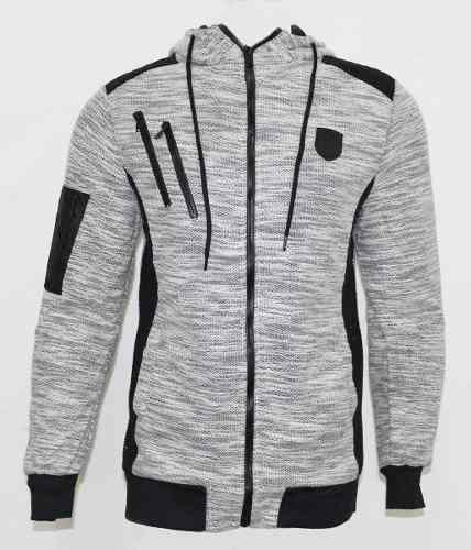 Jaqueta Polo Wear Masculina Mescla Cinza 56147