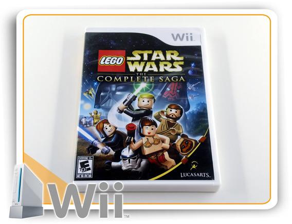Lego Star Wars The Complete Saga Original Nintendo Wii