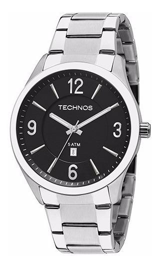 Relógio Technos Classic Steel Masculino 2015bzb/1p Original