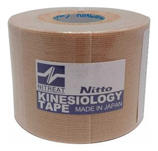 Fita Adesiva Kinesio Tape 5m X 5cm Marca Nitto Denko Original E Com Nota Fiscal