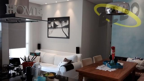 Apartamento Com 2 Dormitórios À Venda, 57 M² Por R$ 390.000,00 - Umuarama - Osasco/sp - Ap0412
