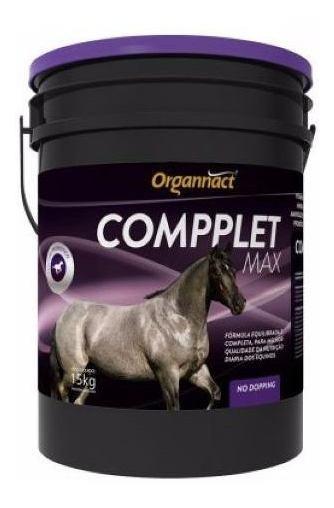 Compplet Max 15 Kg Organnact 15kg Equino Cavalo Pet Shop