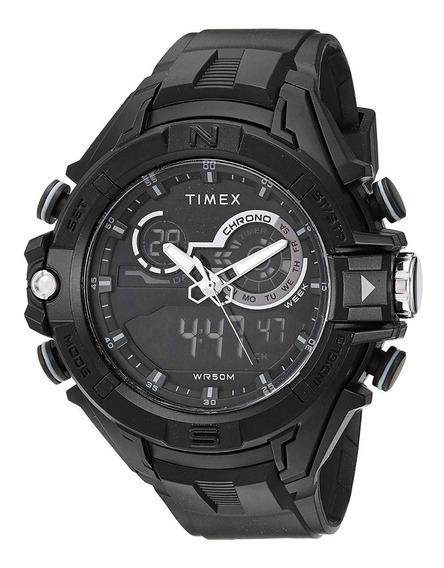 Reloj Timex Para Hombre Dgtl Combo Negro