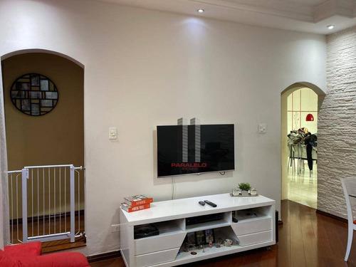 Sobrado Com 3 Dormitórios À Venda, 130 M² Por R$ 650.000 - Mooca - São Paulo/sp - So1555