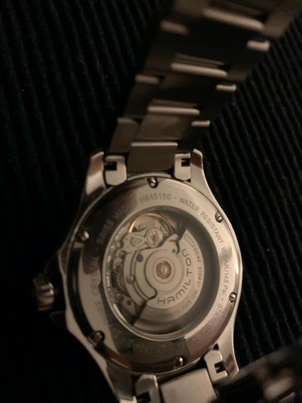 Relógio Hamilton Khaki Automatic Preto - Usado