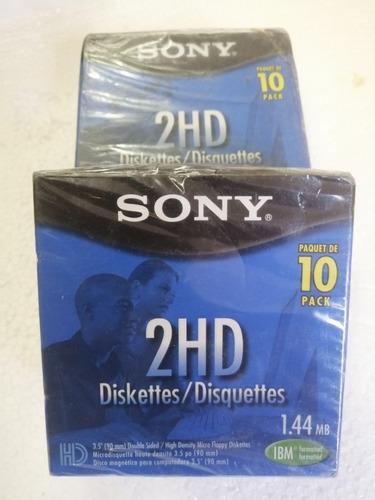 Diskette Sony, Paquete De 10