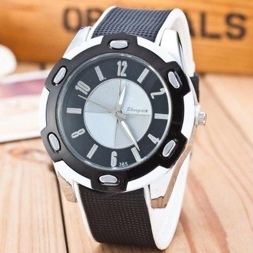 Relógio Masculino Barato Modelo Bmw Pulseira De Borracha