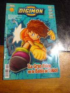 Revista Digimon Año 1 Nro 21 Toei Animation E58