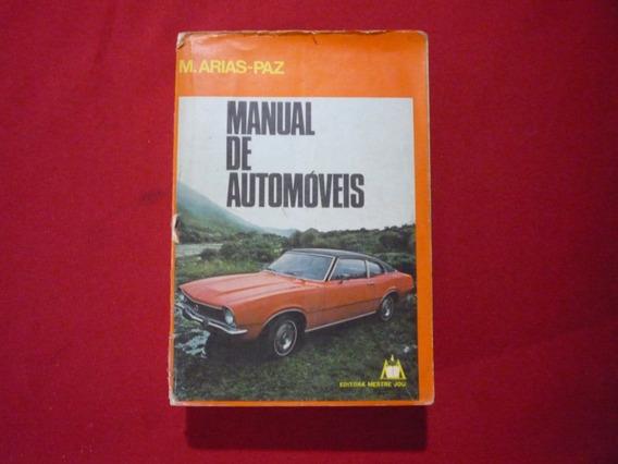 Livro Manual De Automóveis