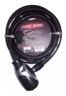 Linga Candado De Seguridad P/ Bici Fire Bird 10 X 1500 Mm
