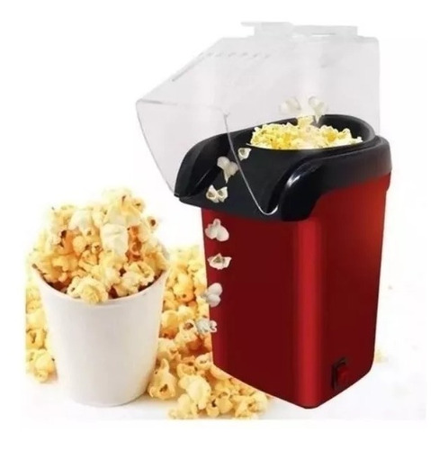 Maquina Cabritas Popcorn 1200w 3 Minutos Libre De Aceite
