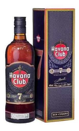 Havana Club Añejo 7 Años Ron Oscuro Botella 750ml C/ Estuche
