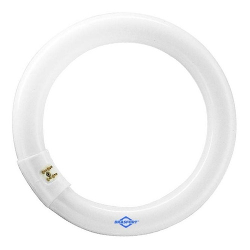 Lâmpada Fluorescente Circular Bivolt 22w T9 Brasfort-8381