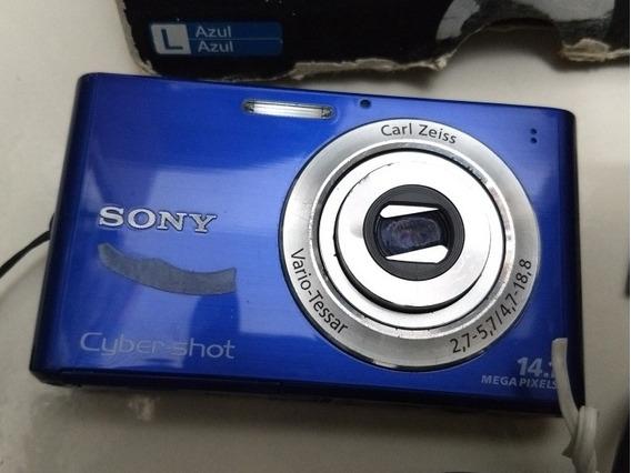 Câmera Dig Sony 16mp Dsc W330 Retirar Peças!!! Com Cabo