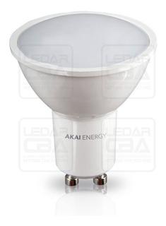 Lampara Dicroica Led Akai 3.5 W = 35 W Gu10 Calida Caja X 10