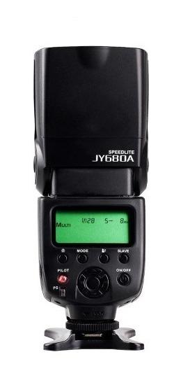 Flash Speedlight Jy680a Para Nikon D3000 D90 D60 Sem Juros!