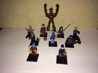 Guardianes De La Galaxia 21pz Tipo Lego