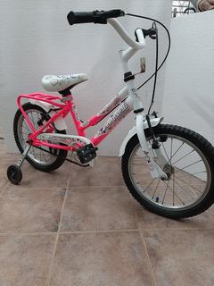 Bicicleta Tomaselli Seria Kids Rodado 14 Para Nena