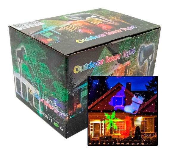 Laser Projetor Led Natal Papai Noel Casa Espeto Festa Led 5w